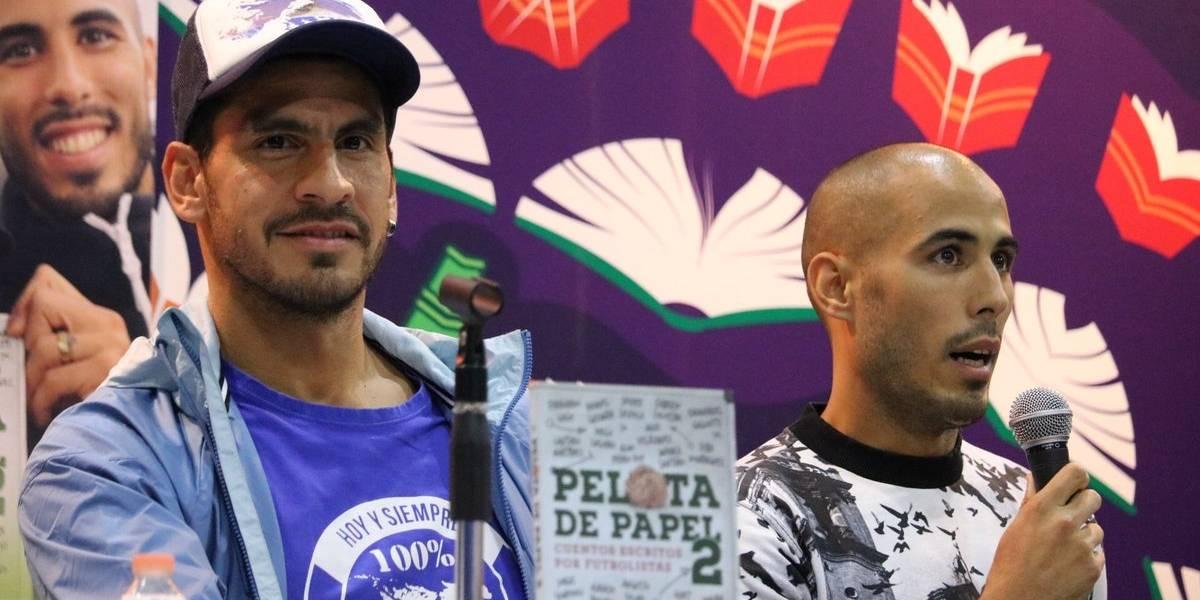 Nahuel Guzmán y Guido Pizarro presentaron su libro de cuentos