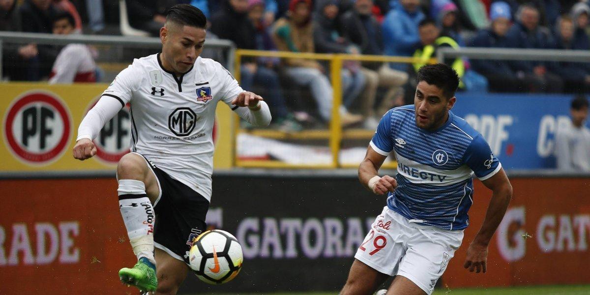 Más problemas para Colo Colo: Óscar Opazo se lesionó y no estará en los próximos tres partidos