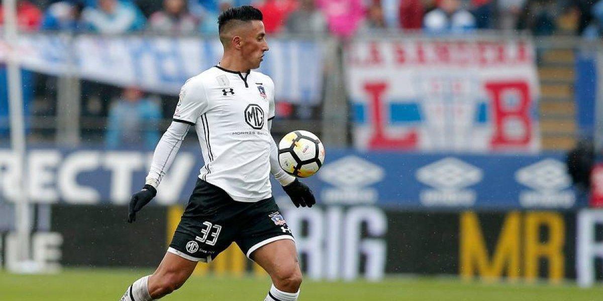 Colo Colo abre las puertas para una posible salida de Lucas Barrios