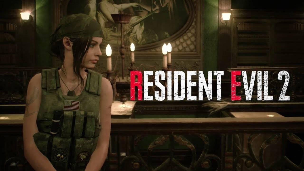 Así lucirá Claire con su atuendo militar en Resident Evil 2
