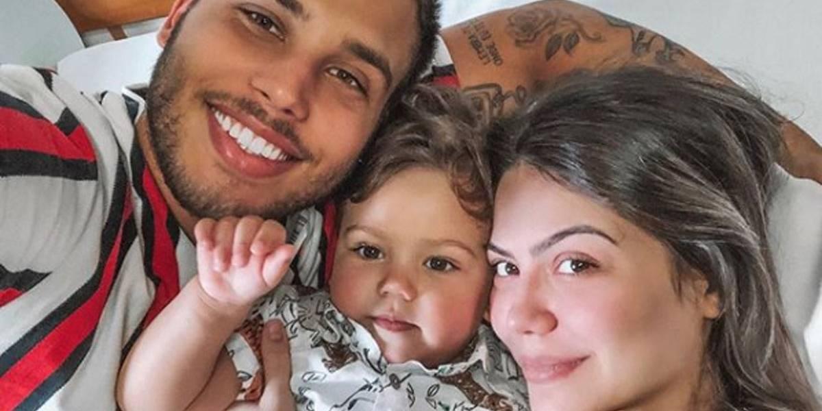 Em parto prematuro, Sarah Pôncio dá à luz seu segundo filho com Jonathan Couto