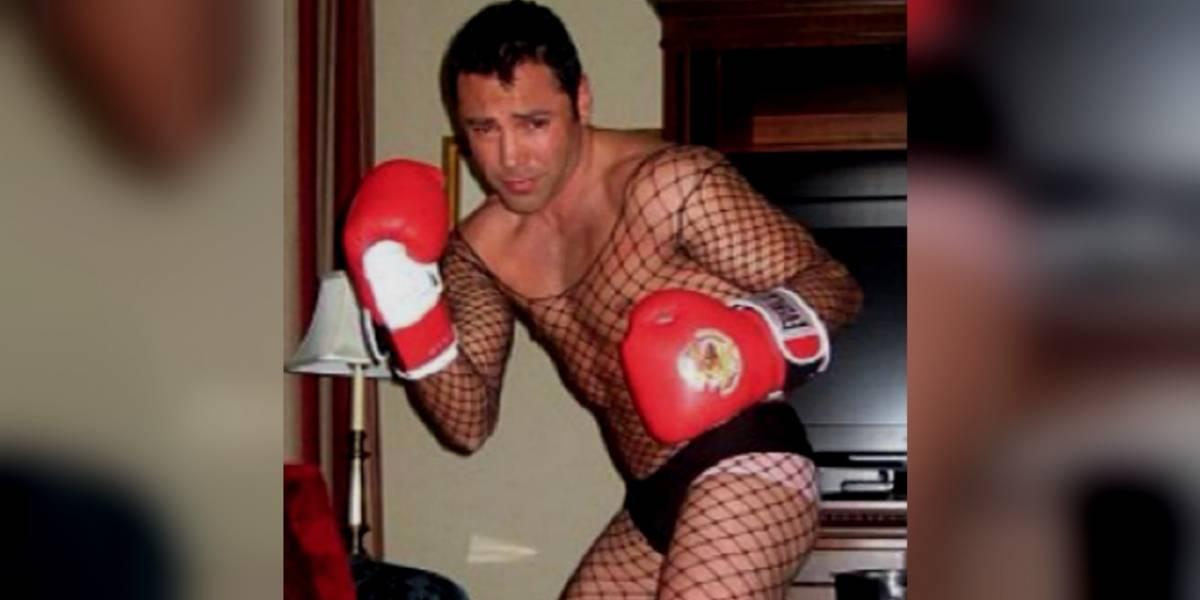 Mayweather ataca a Óscar de la Hoya llamándole 'Golden Girl'