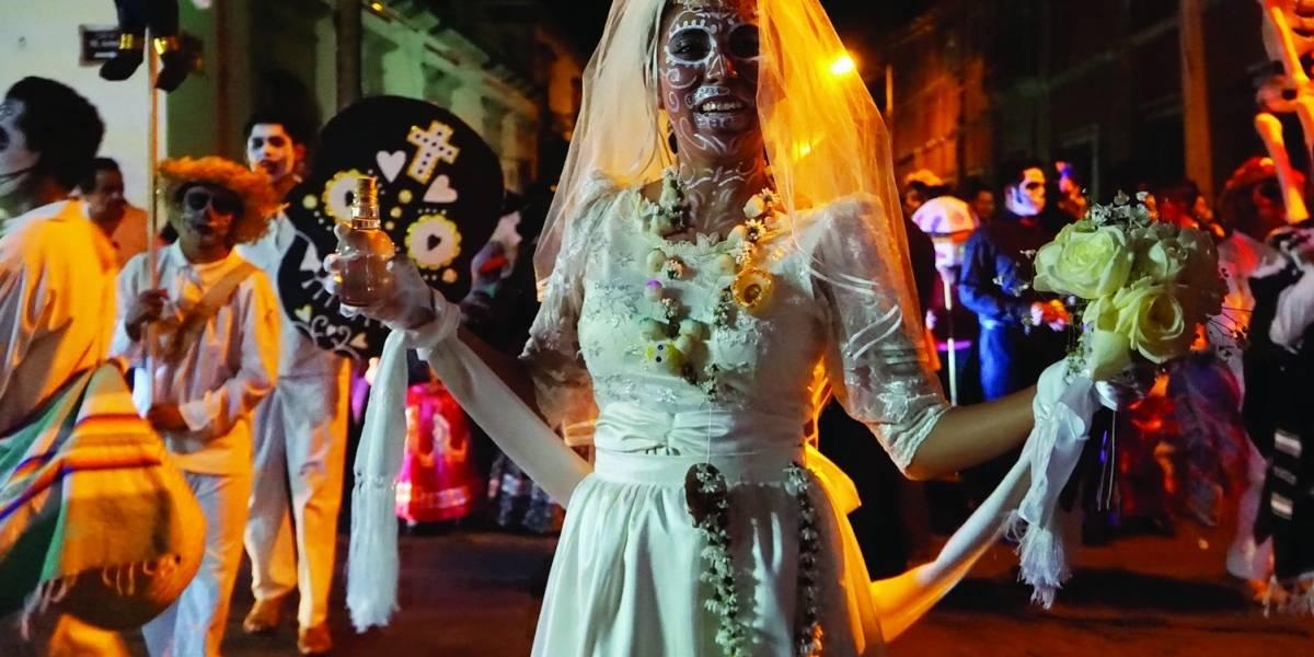 Así se vive la tradición de Día de Muertos en Oaxaca