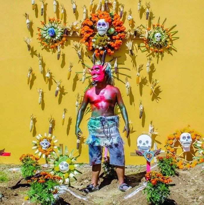 Así se vive la tradición en Oaxaca