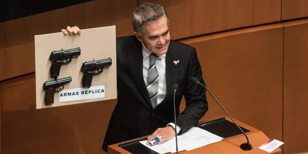 """Piden prisión preventiva para quien asalte con """"armas de juguete"""""""