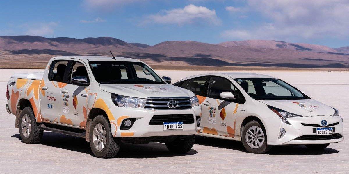Toyota puso la sustentabilidad en los Juegos Olímpicos de la Juventud