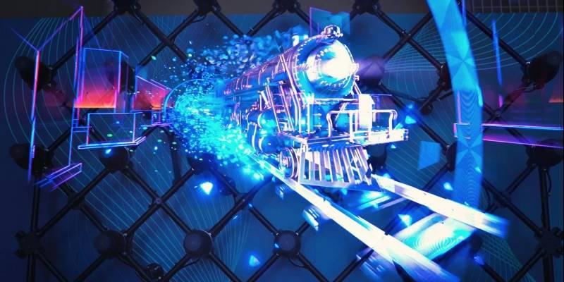 [Video] Hologramas en Chile: Así es la tecnología bielorrusa que desafía a la publicidad tradicional