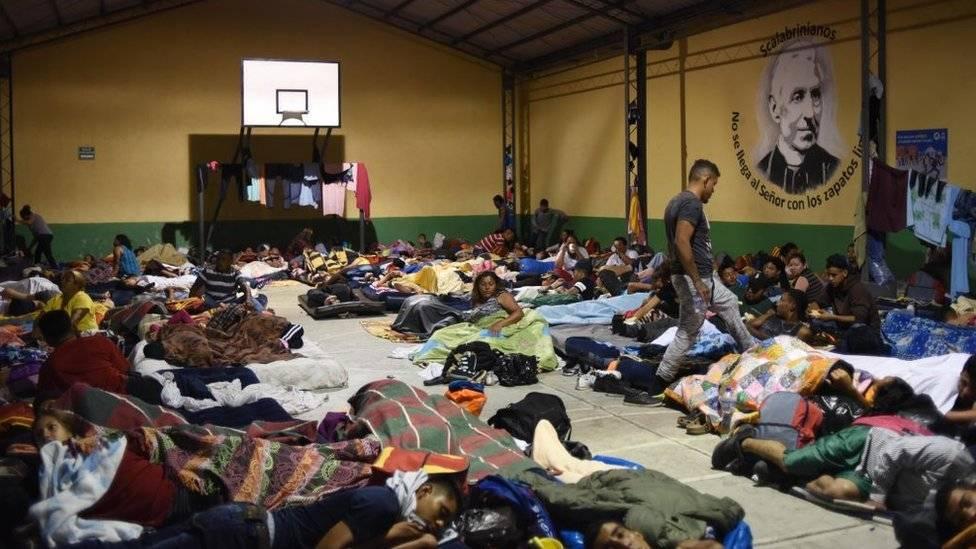 Migrantes, el ingreso violento a México