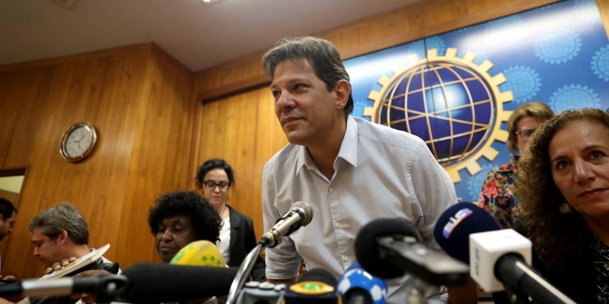 Haddad critica 'silêncio absoluto' do TSE sobre compra de mensagens de WhatsApp