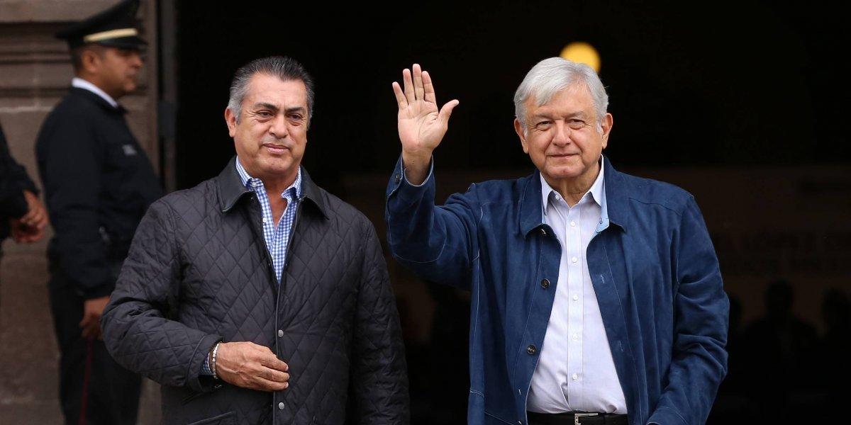 """Confirma AMLO al """"Bronco"""" llegada de SE a NL y acuerdan proyectos prioritarios"""