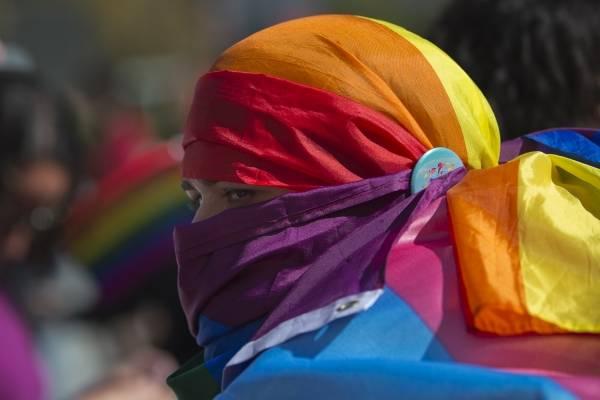 homosexuales perseguidos. AP