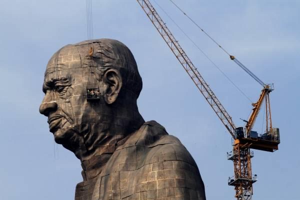 Estatua de la unidad. AP