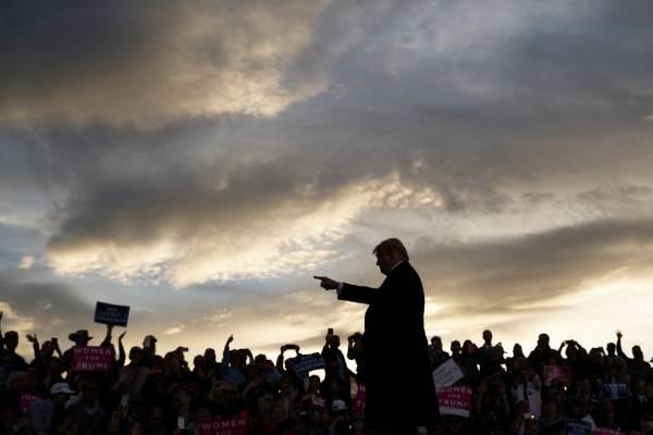 Trump amenaza caravana migrantes. AP