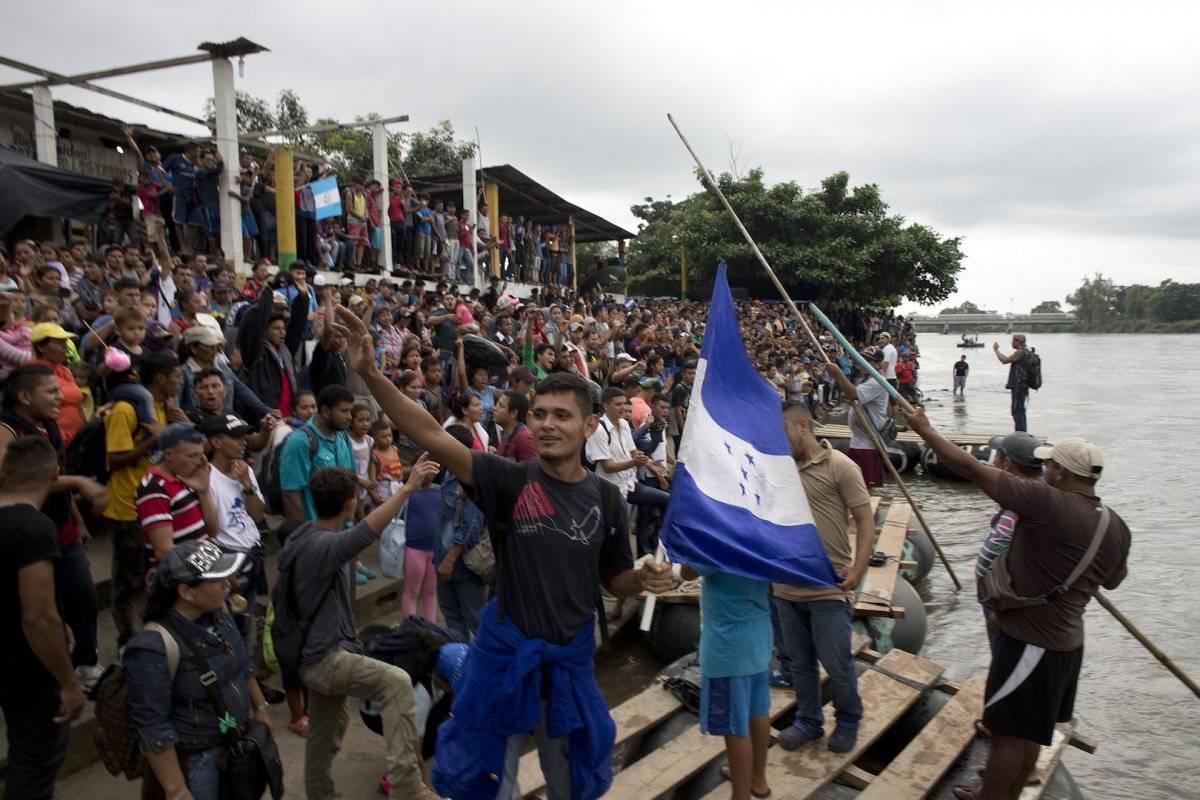 Así luce Guatemala ante la caravana migrante Foto: AP