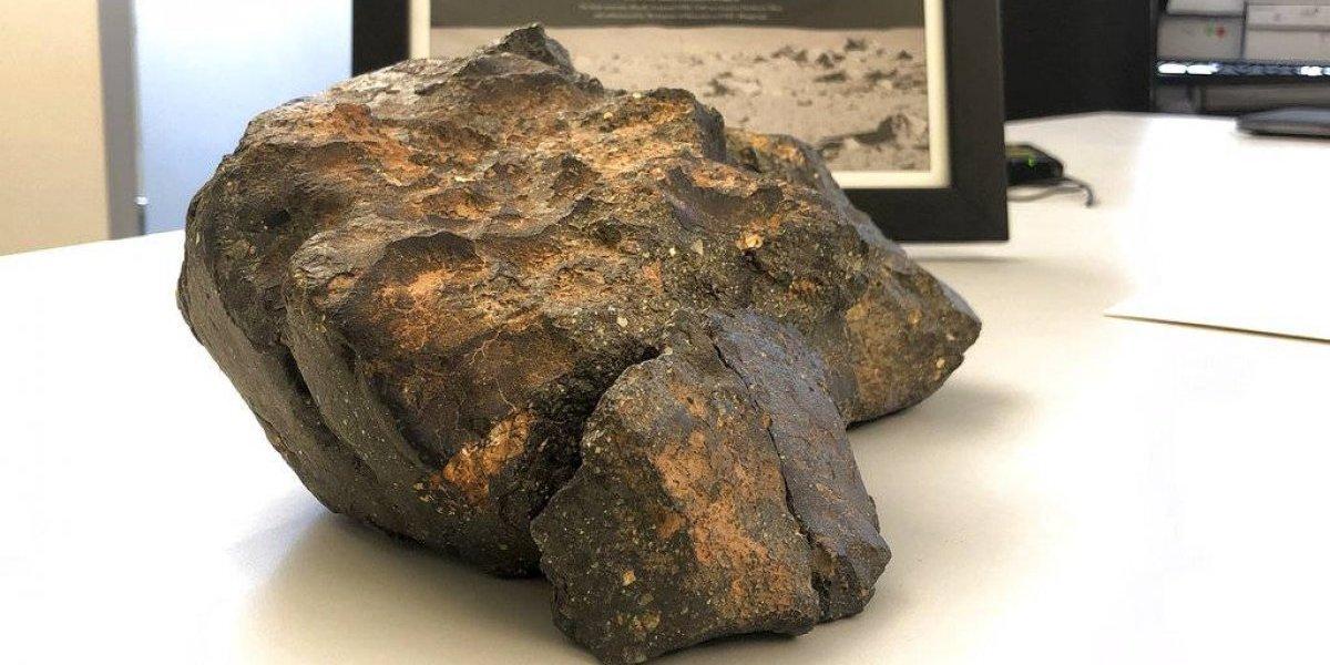 Subastan fragmento de la Luna en miles de dólares