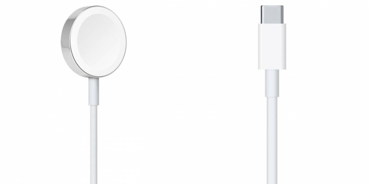 Apple lanza un cargador para el Apple Watch con puerto USB-C