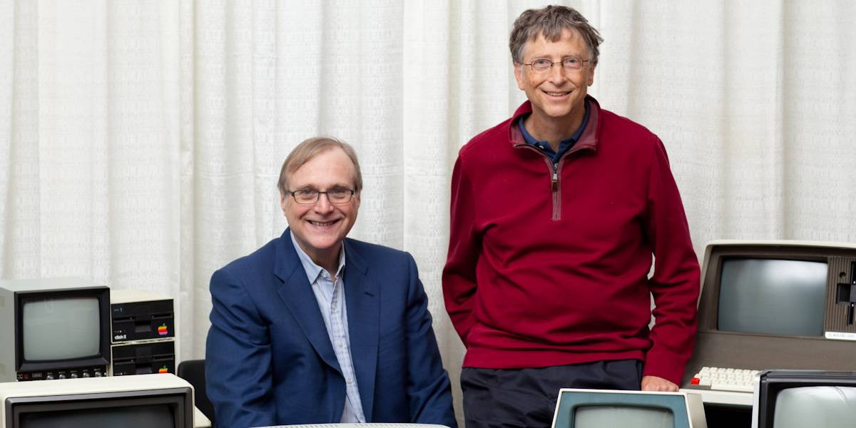 Bill Gates le rinde tributo a Paul Allen y todos lloramos
