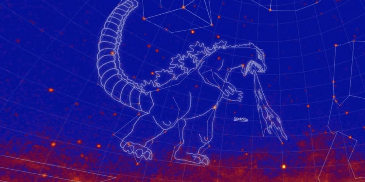 Godzilla ya está en las estrellas: La NASA anunció que una nueva constelación ahora lleva el nombre del legendario rey de los monstruos
