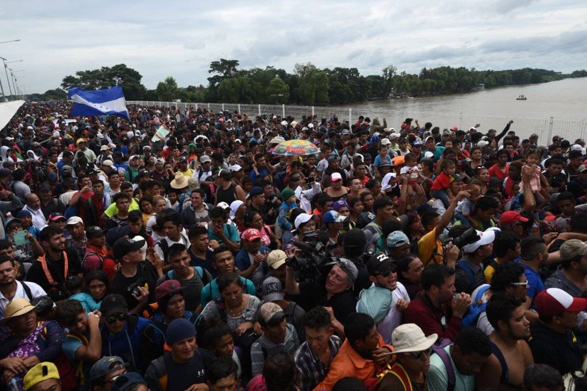 EEUU envía agentes de seguridad a la frontera de Guatemala con México