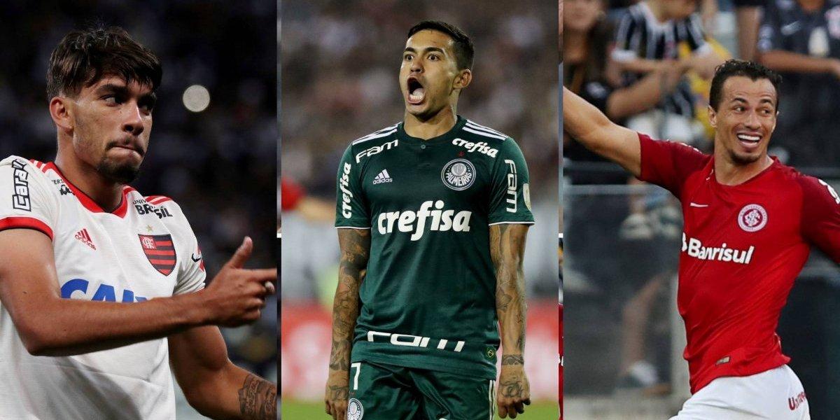 Principais jogos do brasileiro: Palmeiras e Inter disputam a liderança