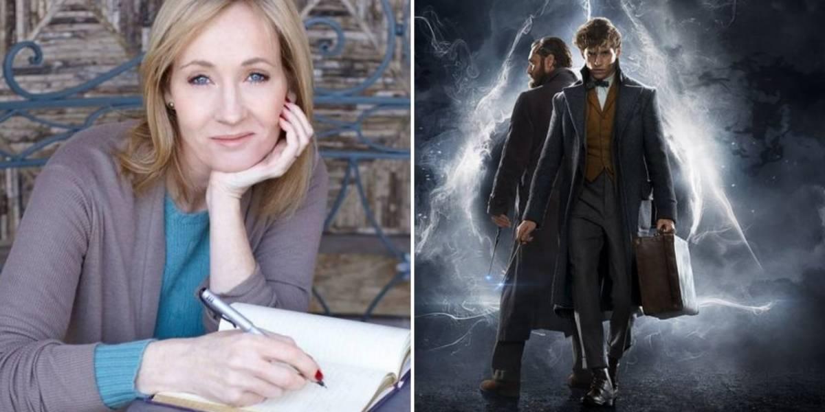 Animais Fantásticos: JK Rowling tem história da saga completa e anuncia surpresa para fãs do universo 'Harry Potter'