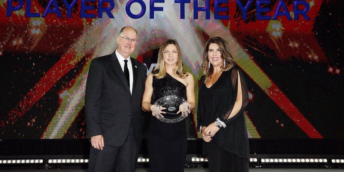 WTA nombra a Simona Halep como la jugadora del año