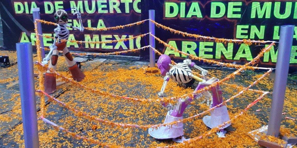 CMLL será sucursal de festividades del Día de Muertos