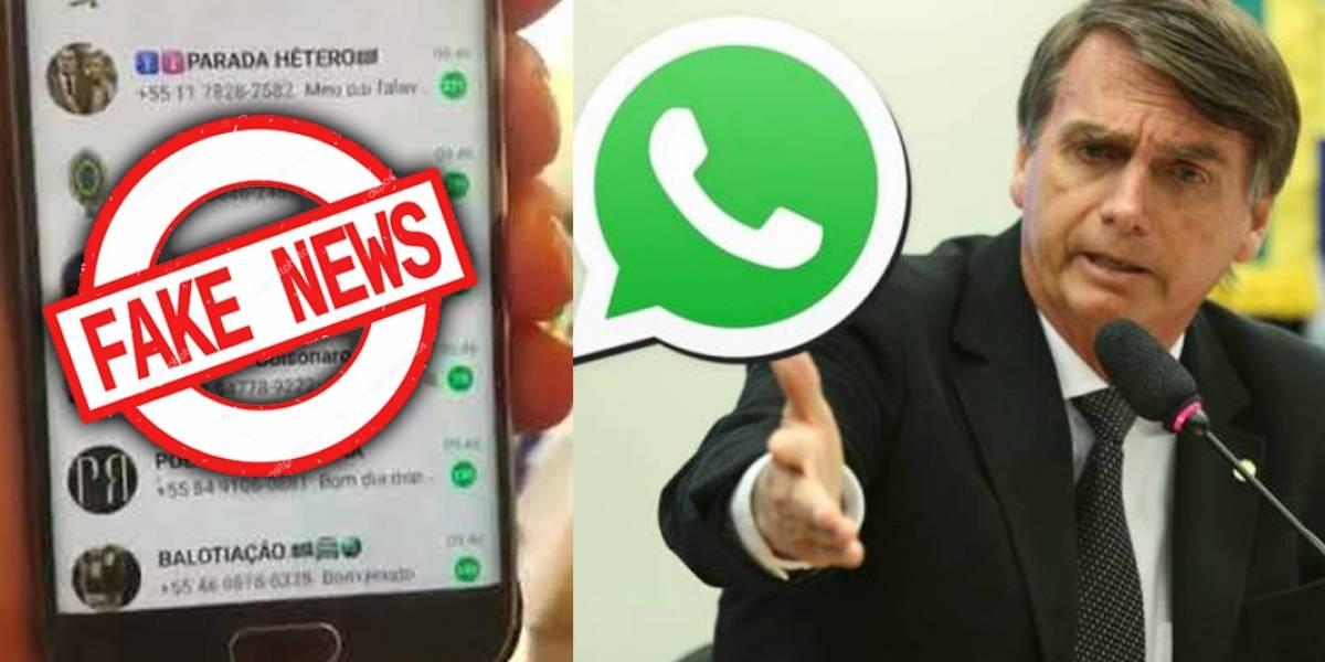 Ola de noticias falsas inundan las redes sociales en favor de Bolsonaro