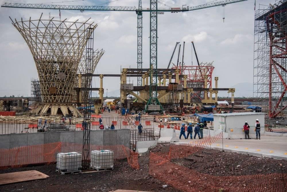 Construcción del Nuevo Aeropuerto en Texcoco Foto: Cuartoscuro