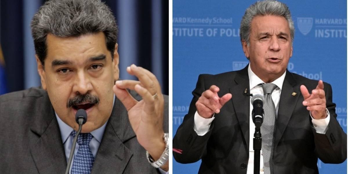 Ministros ecuatorianos reaccionan a los insultos de Nicolás Maduro contra Lenín Moreno