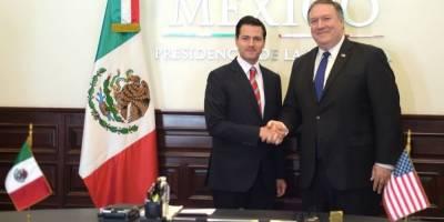 Reunión Peña Nieto con Pompeo