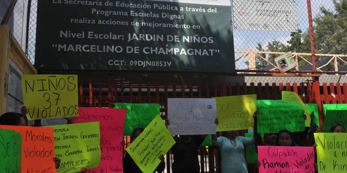 """Detienen a Ramón """"M"""", presunto violador de 37 niños en kínder"""