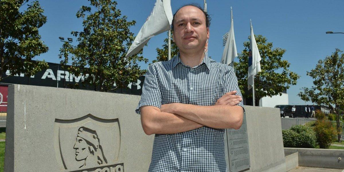 """Edmundo Valladares cuenta el futuro del CSD Colo Colo: """"Queremos fortalecerlo para pararse de igual a igual con Blanco y Negro"""""""