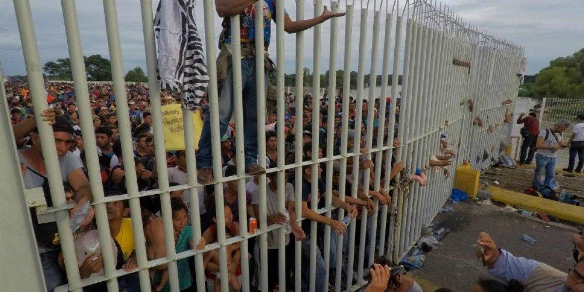 No permitiremos ingreso irregular o violento al país — Peña Nieto