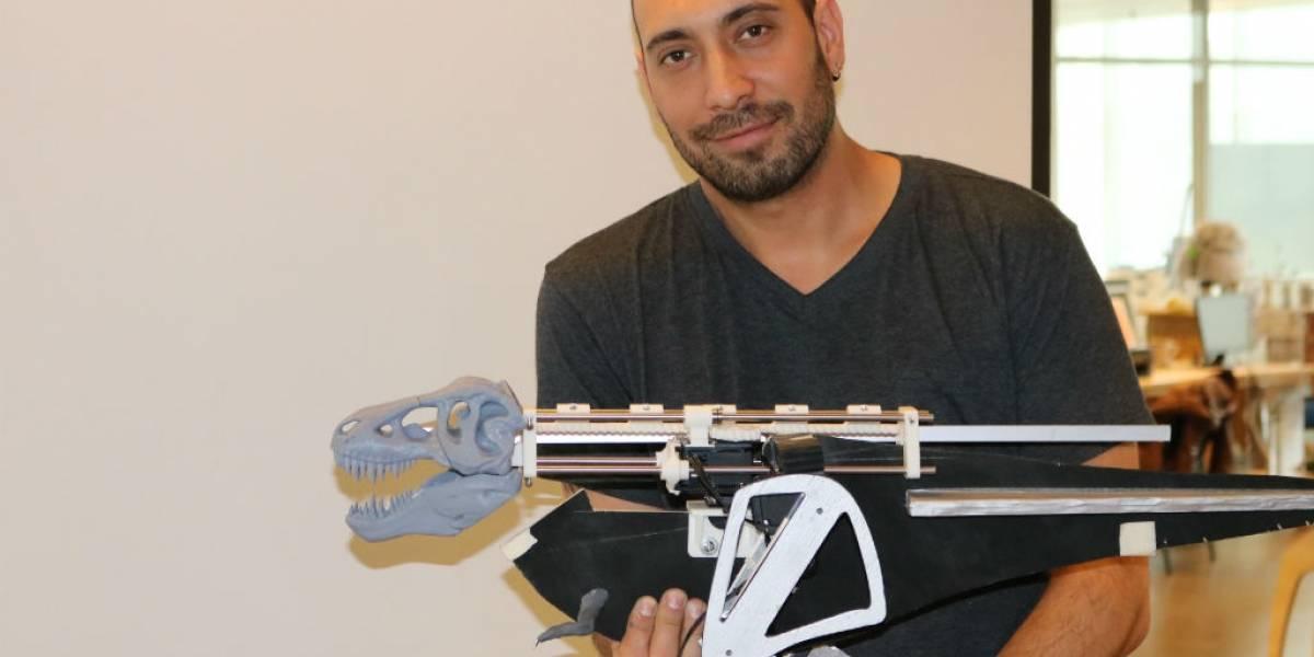 """Este es el Terópobot: Un robot """"chileno"""" para estudiar el movimiento de los dinosaurios"""
