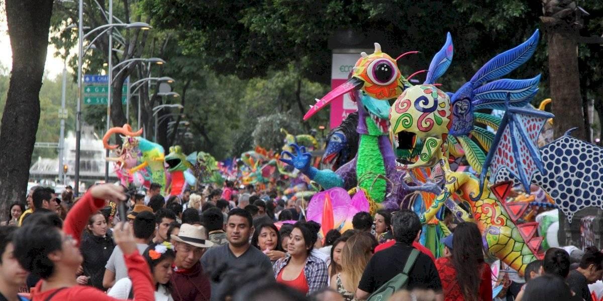 Lluvia de color inunda Desfile de Alebrijes 2019