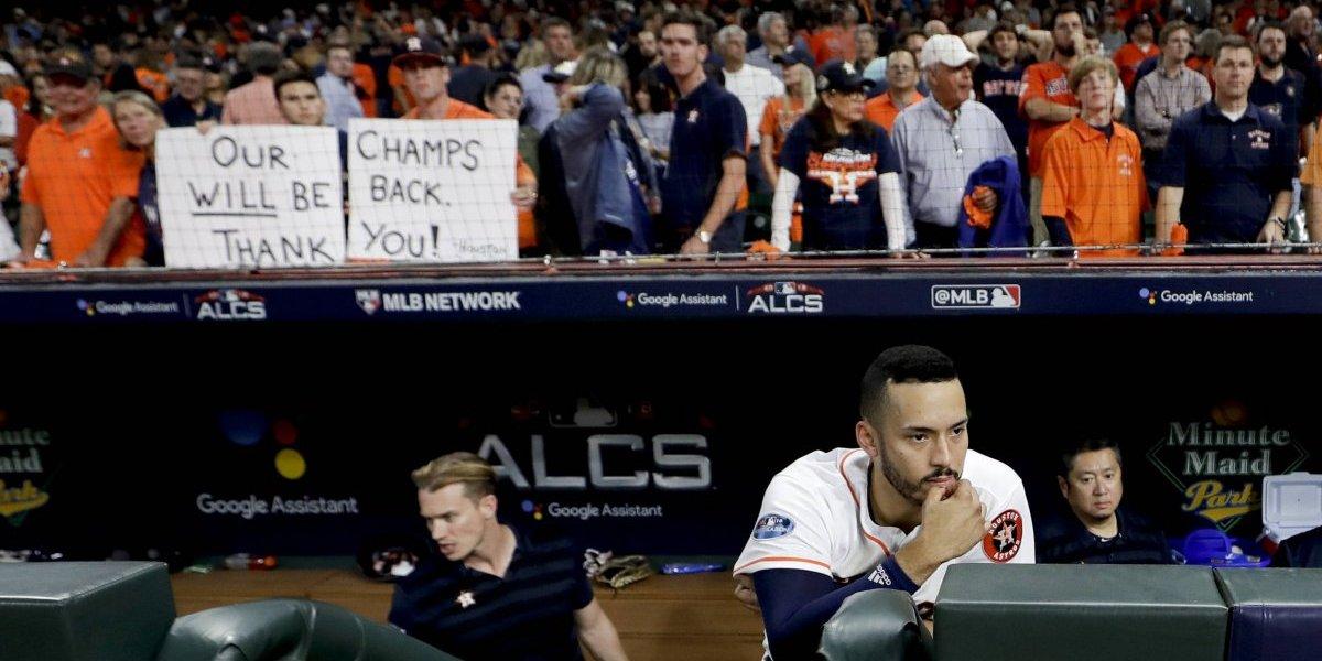 Astros de Houston lamentan oportunidad perdida de repetir como campeones