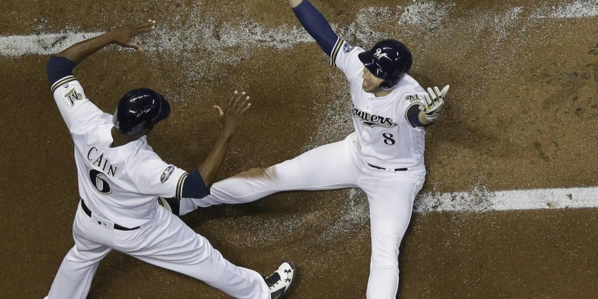 Cerveceros vencen a Dodgers y obligan séptimo juego