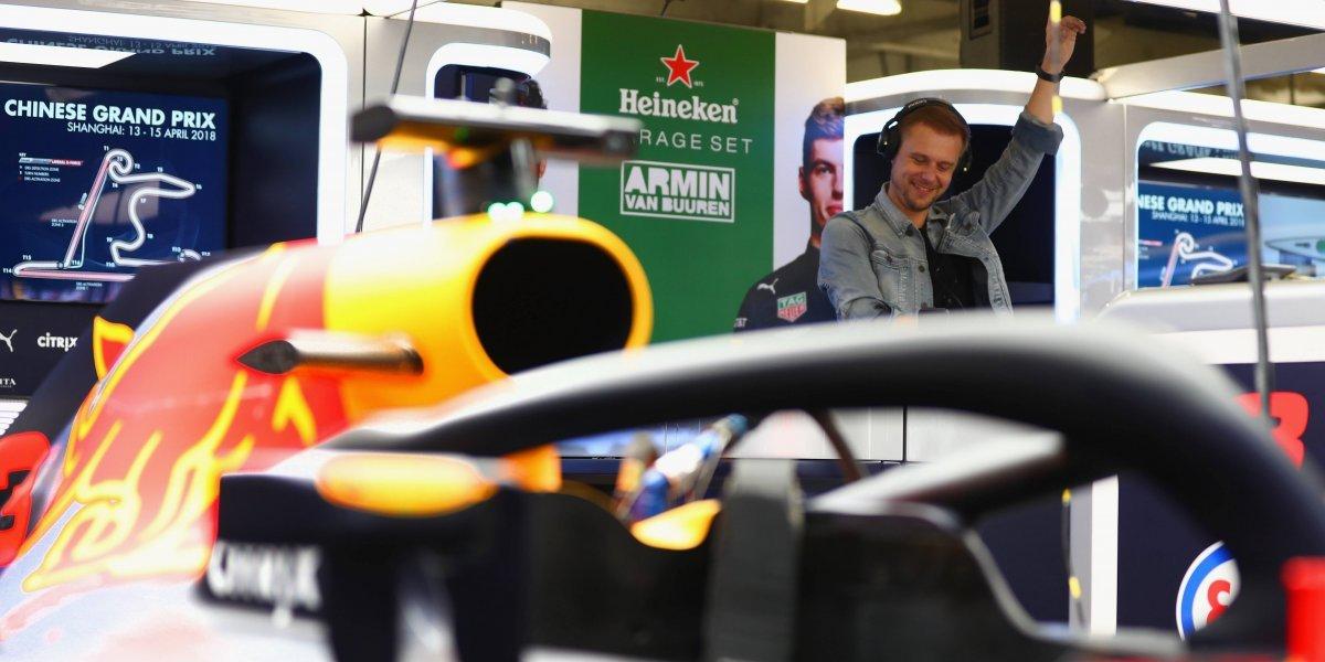 Armin Van Buuren cerrará las actividades del GP de México 2018