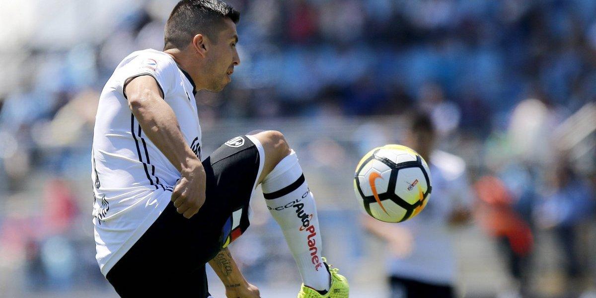 Gonzalo Fierro será citado a la banca en el que puede ser su último partido por Colo Colo