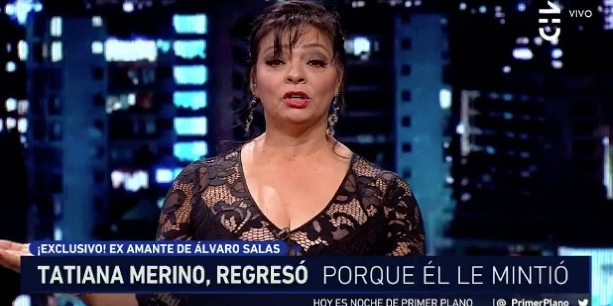 """Tatiana Merino arremete contra Álvaro Salas por demanda de paternidad: """"¿Cómo no reconoce algo que es lógico"""""""