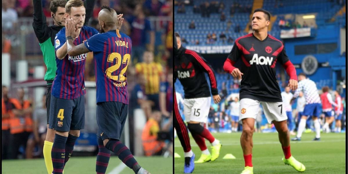 Suplentes, postergados y en baja forma: El peor momento de Vidal y Alexis en el fútbol europeo