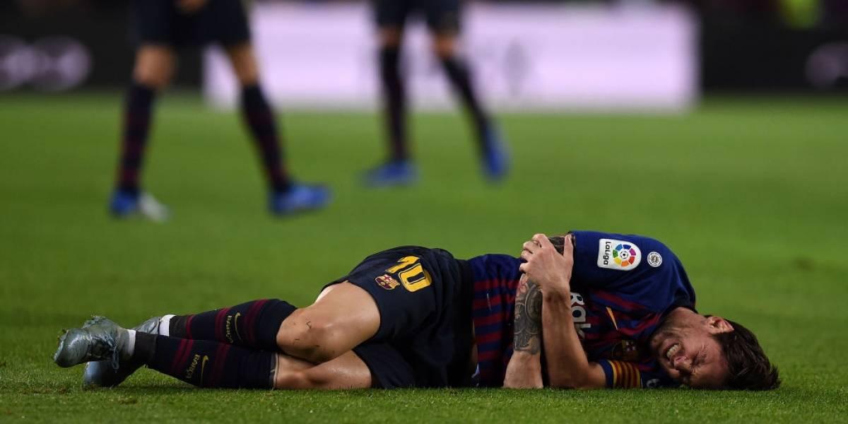 ¡Alerta en Barcelona! Messi sale lesionado ante Sevilla