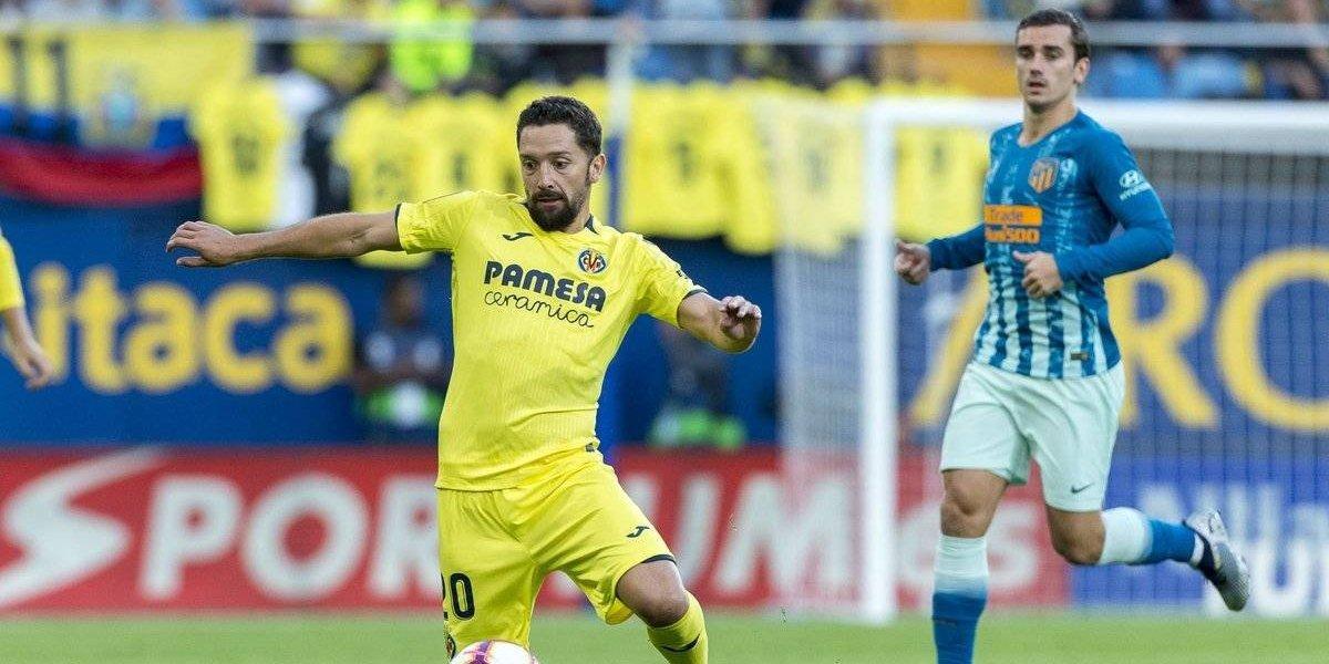 El Colocho Iturra debutó en Villarreal con valioso empate ante el poderoso Atlético de Madrid