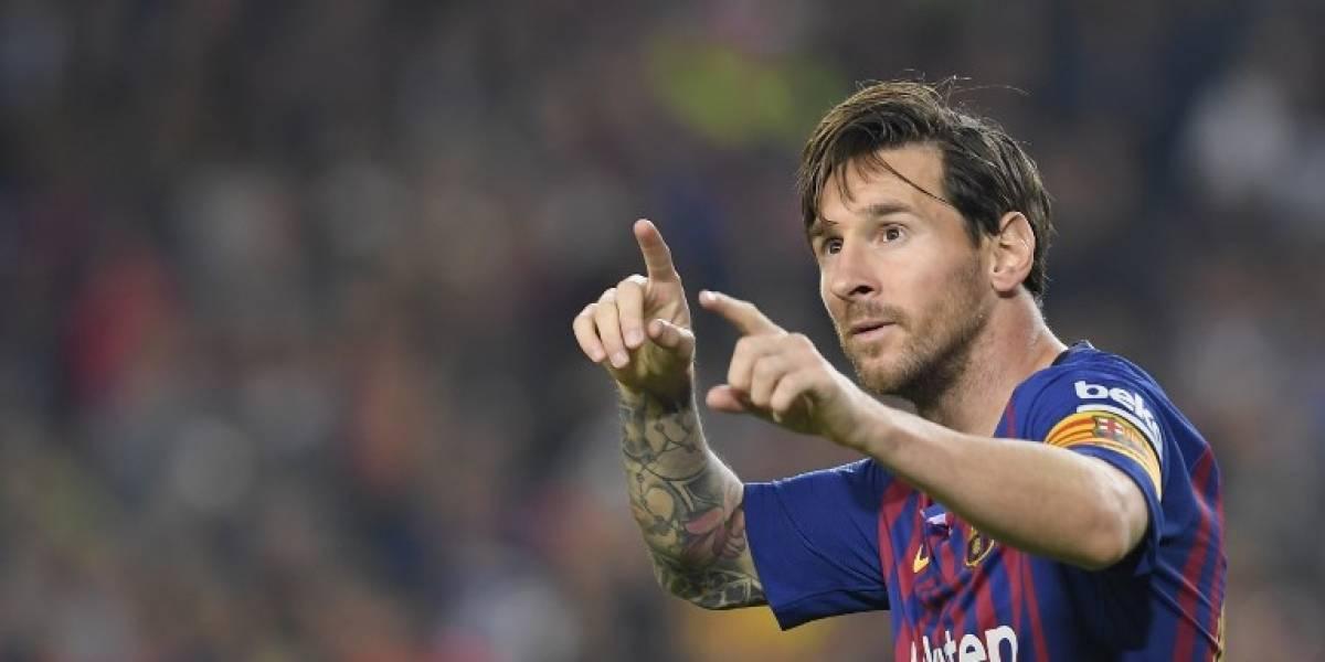 """Messi, la """"guinda sobre el pastel"""" del Barça, según técnico italiano Spalletti"""
