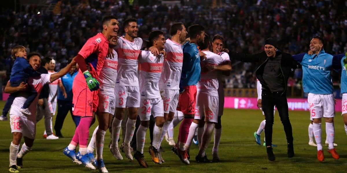 """Uno a uno de la UC ante la U. de Concepción: Buonanotte fue un """"mago"""", Dituro un frontón y Vilches puso el gol"""