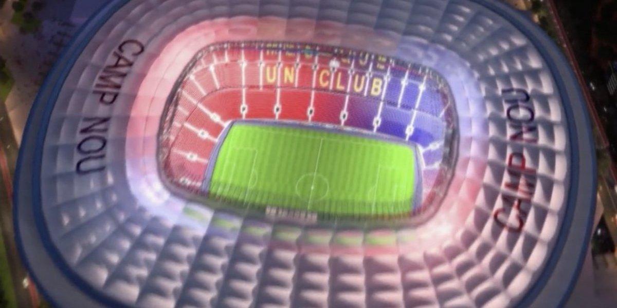 VIDEO: Barça presume ambicioso proyecto para el Camp Nou