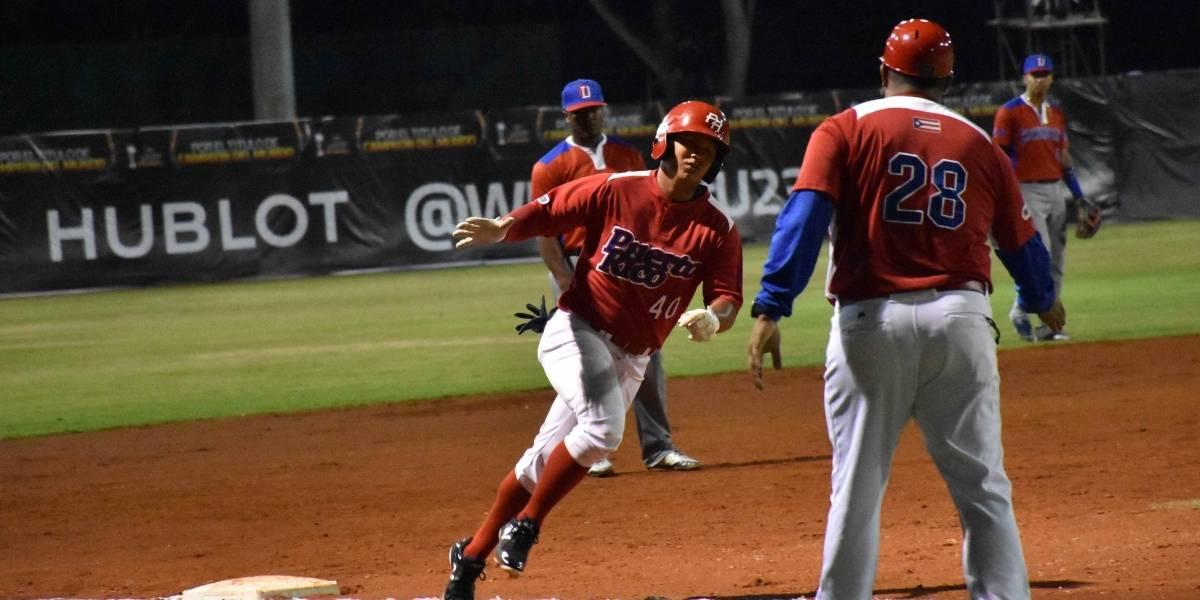 Puerto Rico pierde ante República Dominicana en Mundial de Béisbol