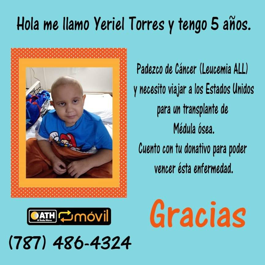 Yeriel Torres - 5 años