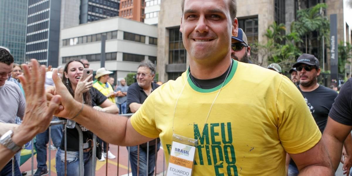 Após vídeo, Eduardo Bolsonaro diz que 'nunca' defendeu o fechamento do STF